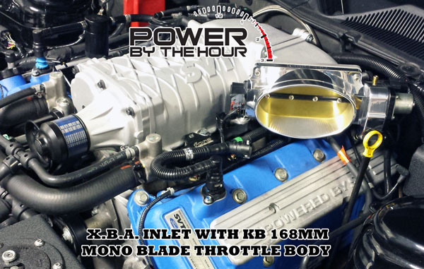 XBA Inlet for big Shelby GT500 performance