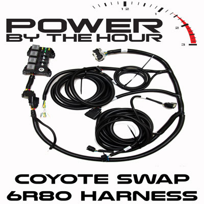 pbh 6r80 coyote swap wiring harness 6r80 coyote swap wiring harness body harness pbh performance 2008 Honda Accord Automatic Transmission Wiring Harnesses at crackthecode.co