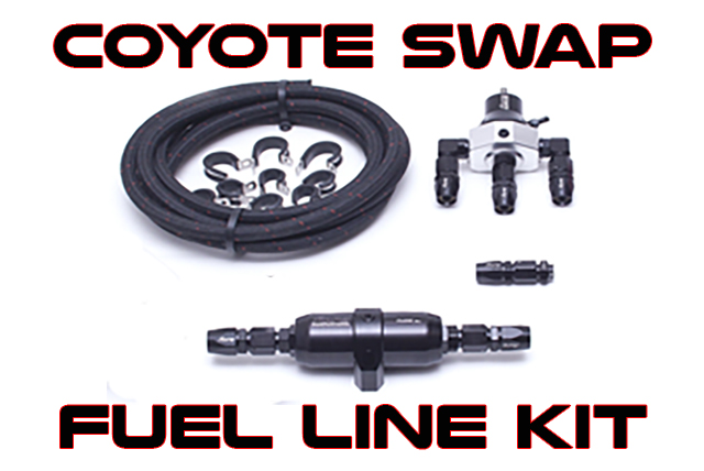 Coyote Swap Fuel Line Kit