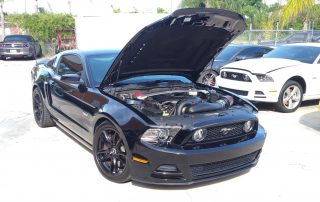 Vortech supercharged S197 Mustang Customer Car