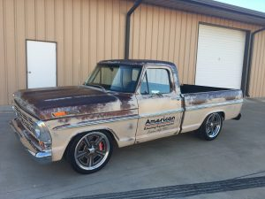 Coyote Powered Ford F100 for SEMA 2017