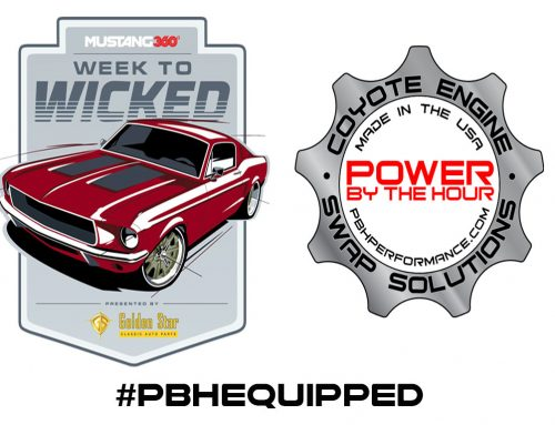 Mustang 360's Week To Wicked Mustang to be #PBHEQUIPPED