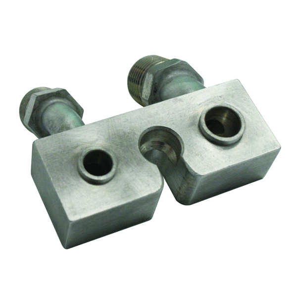 AN ADAPTOR BLOCK FOR AC COMPRESSOR