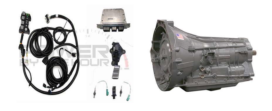 6R80 Transmission Controller for Coyote Swaps - Power By The