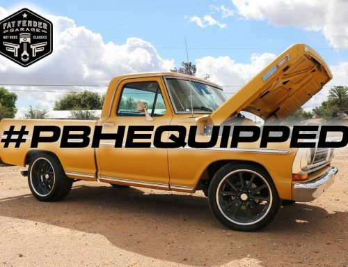 Fat Fender Garage takes you for a ride in a Coyote Swapped 71 F100