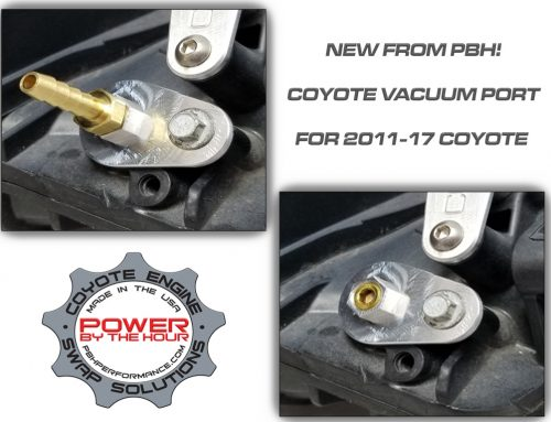 New part from PBH for your 2011-17 Coyote engine.